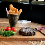 Steak and Chips - The Red Lion at Brafield