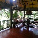 veranda area