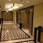 Lift lobby at level 21