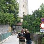 Zugang zur Sparrenburg