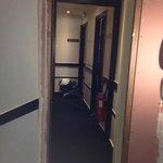 Couloirs en rénovation pendant tout notre séjour...