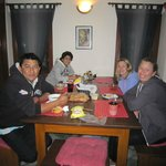Quiet dinner @Home after a day in Bhaktapur