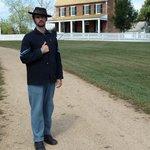 Union Soldier at Appomatox