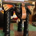 Elephant shaped Stool