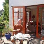 Breakfast at Lavender cottage