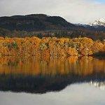 Loch Faskally just a few minutes walk away from the B&B