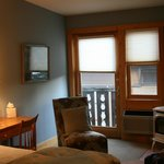 Grand King room - tiny balcony