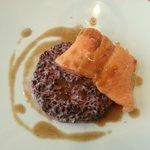Dos de truite et risotto vénéré