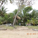 Vista do hotel....da praia