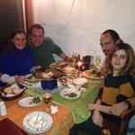 Şirincem de mükemmel keyifli ve huzurlu akşam yemeği