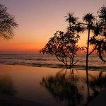 Sonnenuntergang an den Qunci Villas