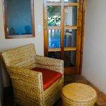 Cuarto Sol's Private Balcony