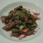 Chop suey de ternera y verduras