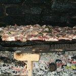 carne sulla pietra