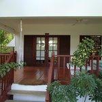 Atrium suite verandah