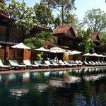 la piscine de La Résidence d'Angkor