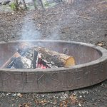 Outdoor fire ring