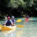 Kayak en el Rio Jamao