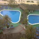 2 of the excellent outdoor pools and pool bar/diner