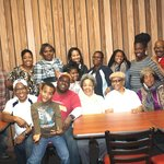 """My family eating out at my mother's favorite place in Williamsburg, VA """"Golden Coral"""""""