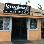 Breakwall Shave Ice on Prison St.