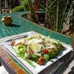 lunch... ceasar salad