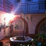 patio intérieur:magnifique