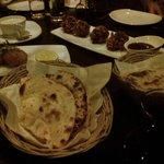 Poppadoms main dish by Pinot N