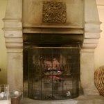 Cosy fireplace - ideal for a tea or drink in the evening