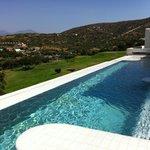 piscina esterna e golf