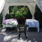 Couple's massage in cabana!