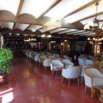 Het restaurant .