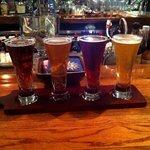 Flight of beers -