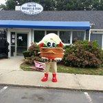 The Cape Cod Burger Mascot