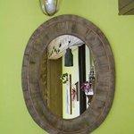 Le miroir de la grande salle