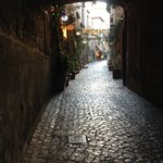 Cute roads in Orvieto