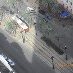 Trolley Runs Right Outside Door