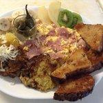 Ham & Eggs at Pan Caliente