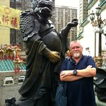 Wong Tai Sin Temple - Jamie and the Dragon