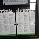 Houlihans menu