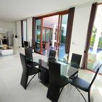 Dinning Room in Villa