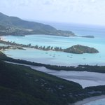 Looking over Antigua