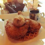 Chicken and Waffles. AMAZING!!