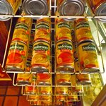 You can buy cans of soup, too.