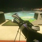 Fun evening at Top Golf