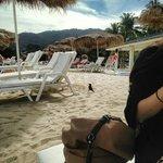 度假村外海灘