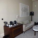 One Bedroom Suite living area - Bell Suite