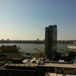 View from rooftop bar/pool area of Gansevoort Meatpacking
