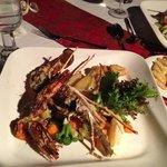 Romantic dinner ..... seafood plate, taste so yummy