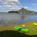 Paku Hill, kayaks from motel
